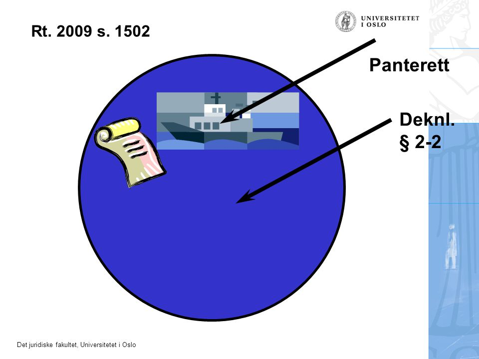 Rt. 2009 s. 1502 Panterett Deknl. § 2-2