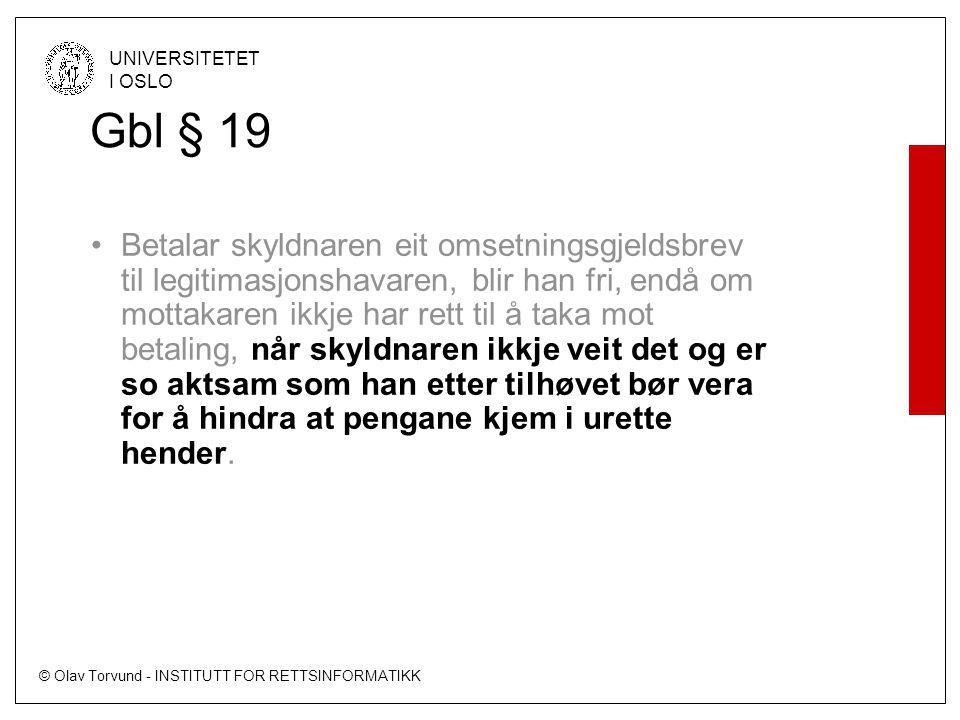 Gbl § 19