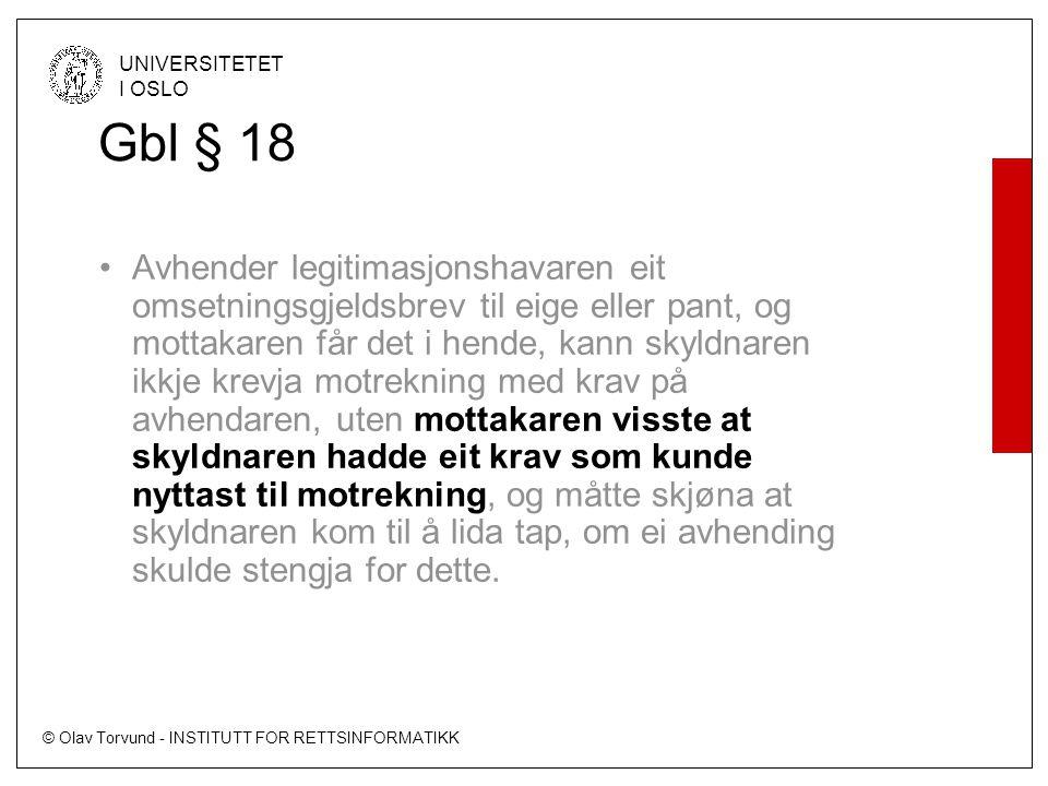 Gbl § 18