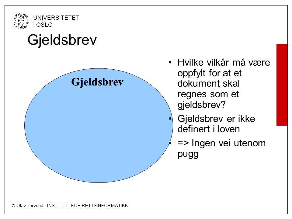 Gjeldsbrev Gjeldsbrev