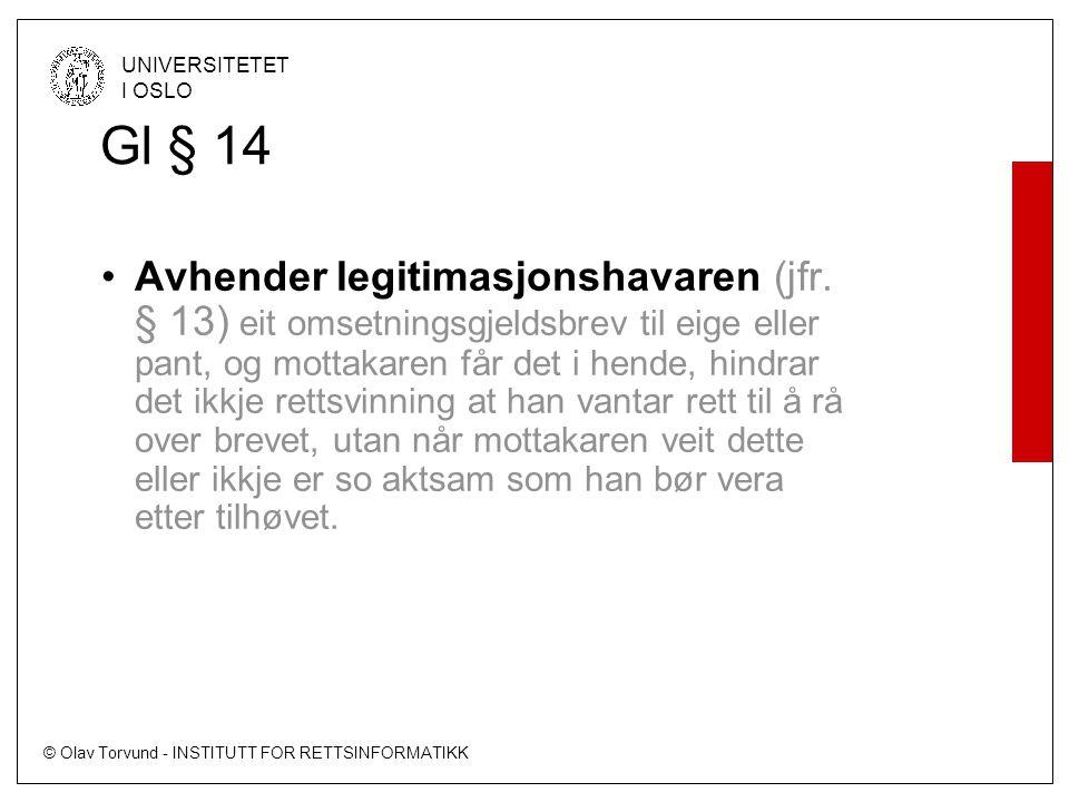 Gl § 14