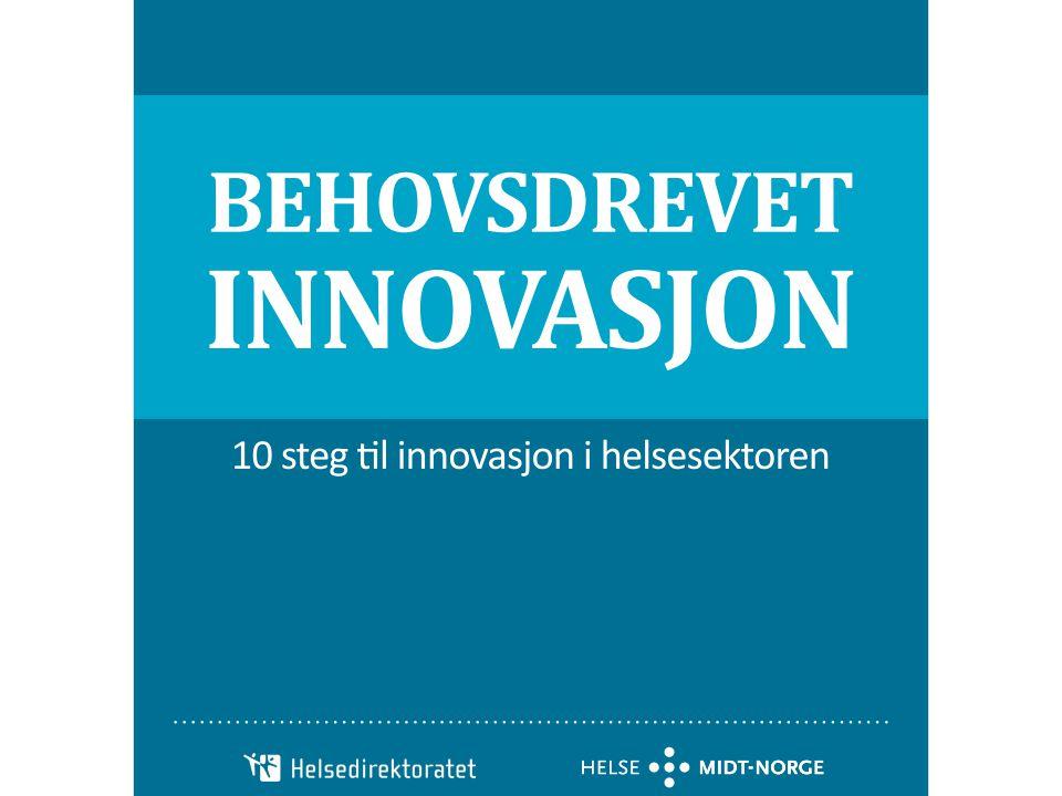InnoMed har i samarbeid med Helsedirektoratet, Helse Midt-Norge og SINTEF Teknologi og samfunn utviklet en veileder i behovsdrevet innovasjon. Partnerne samarbeider om kunnskapsutvikling og kunnskapsformidling knyttet til behovsdrevet innovasjon i helsesektoren. Erfaringer fra pilotprosjekter er nå samlet i en kortfattet håndbok for å komme alle innovasjonsaktører til gode.