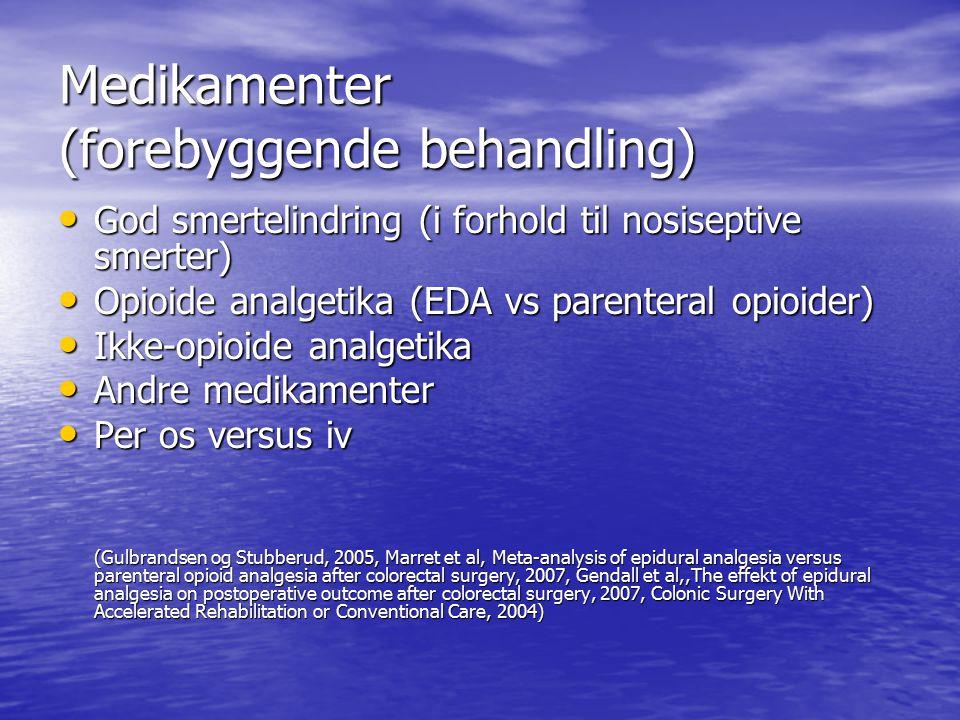 Medikamenter (forebyggende behandling)