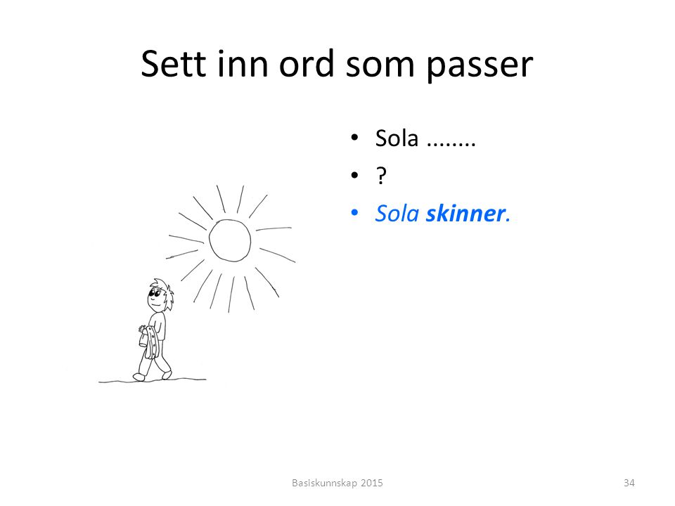solen skinner på deg illustrasjon