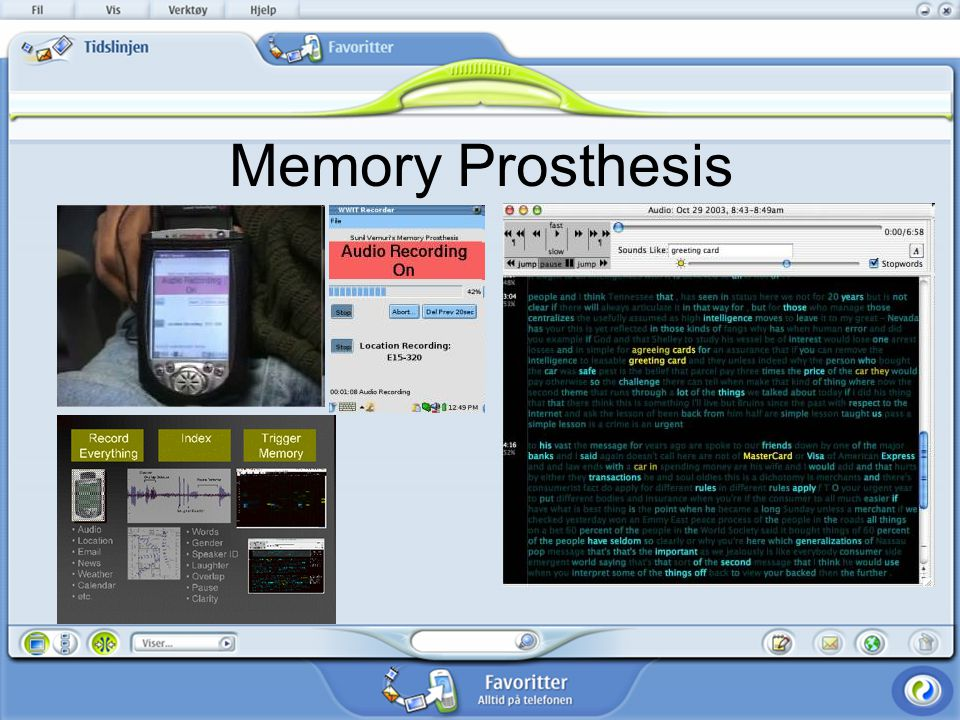Memory Prosthesis