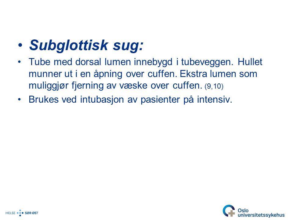 Subglottisk sug: