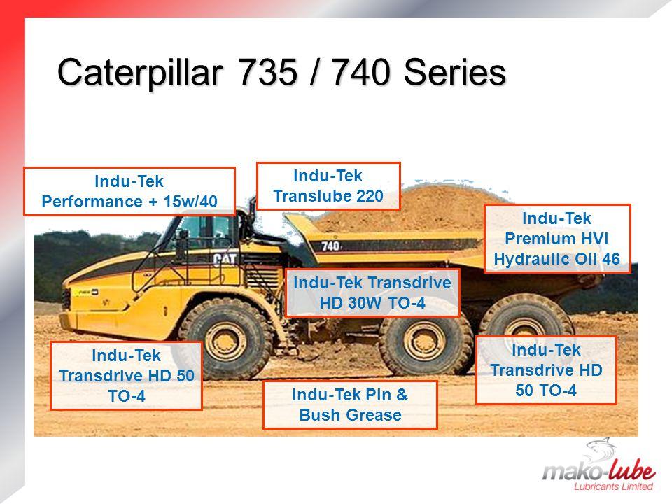 Caterpillar 735 / 740 Series Indu-Tek Translube 220