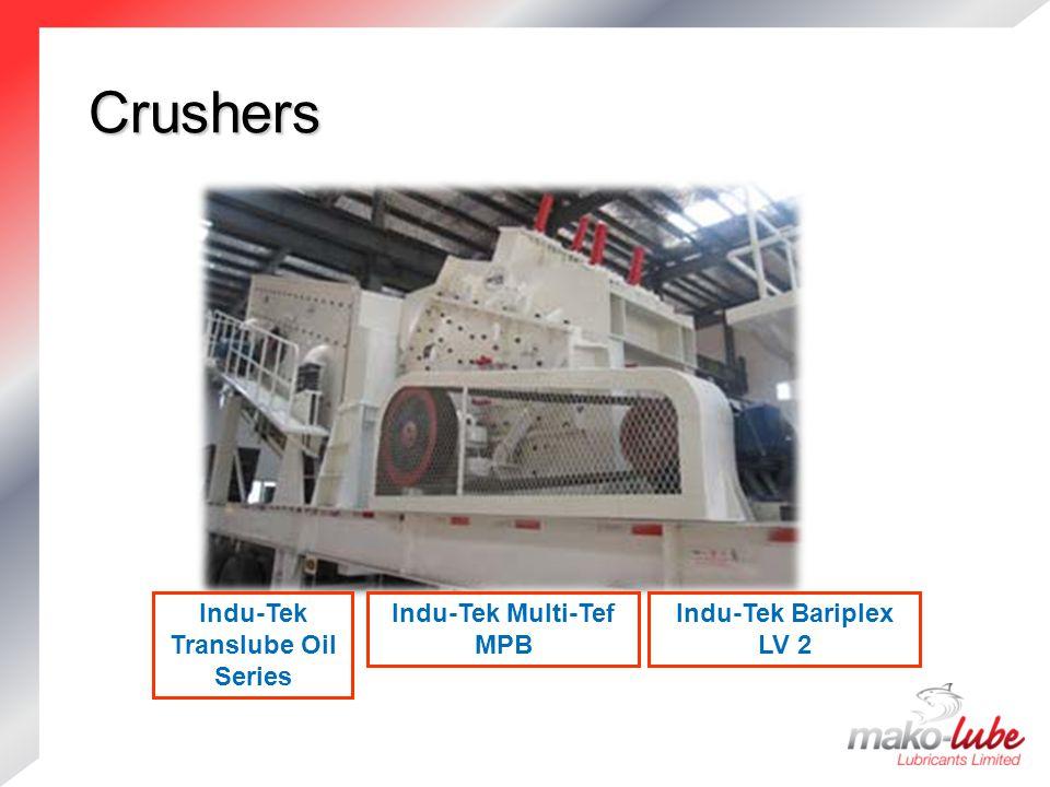 Indu-Tek Translube Oil Series Indu-Tek Multi-Tef MPB