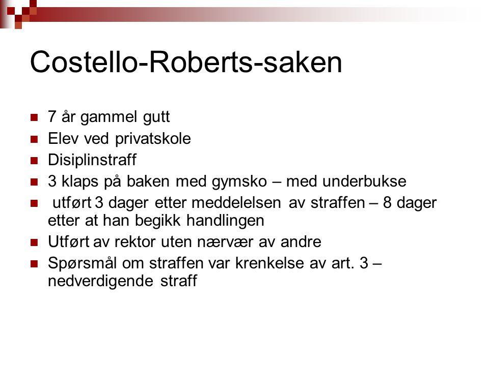 Costello-Roberts-saken