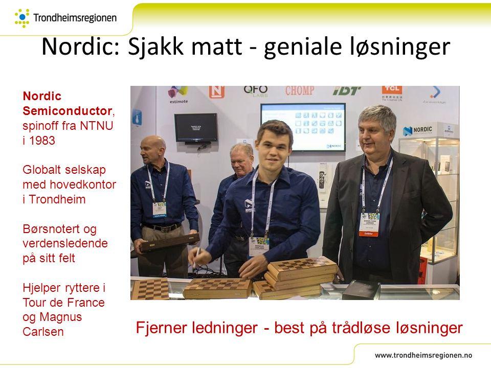 Nordic: Sjakk matt - geniale løsninger