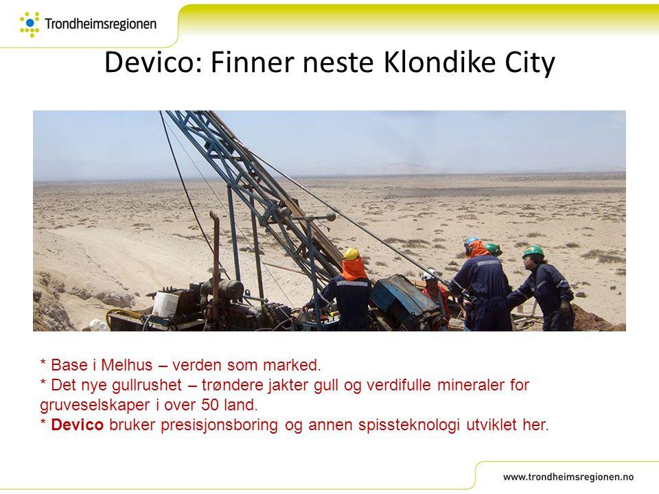 Devico: Finner neste Klondike City