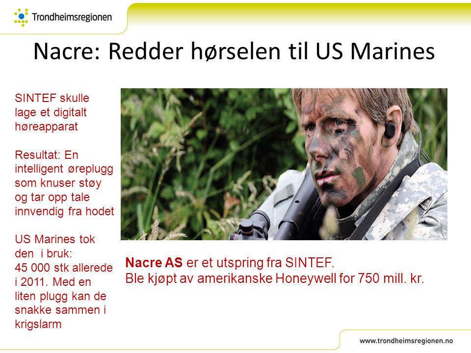Nacre: Redder hørselen til US Marines