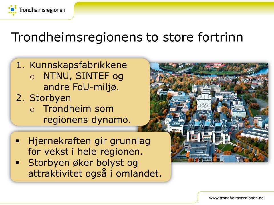 Trondheimsregionens to store fortrinn
