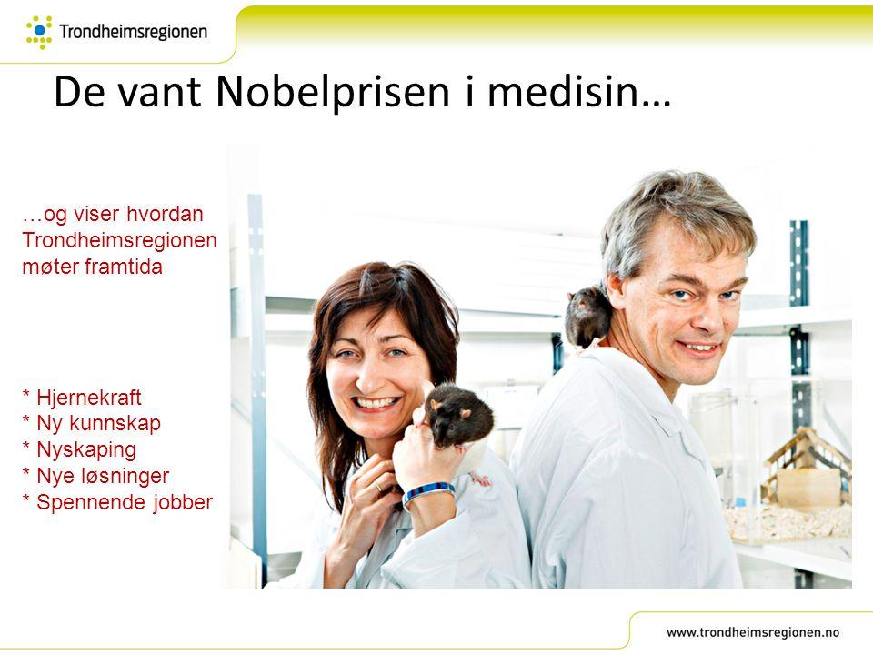 De vant Nobelprisen i medisin…