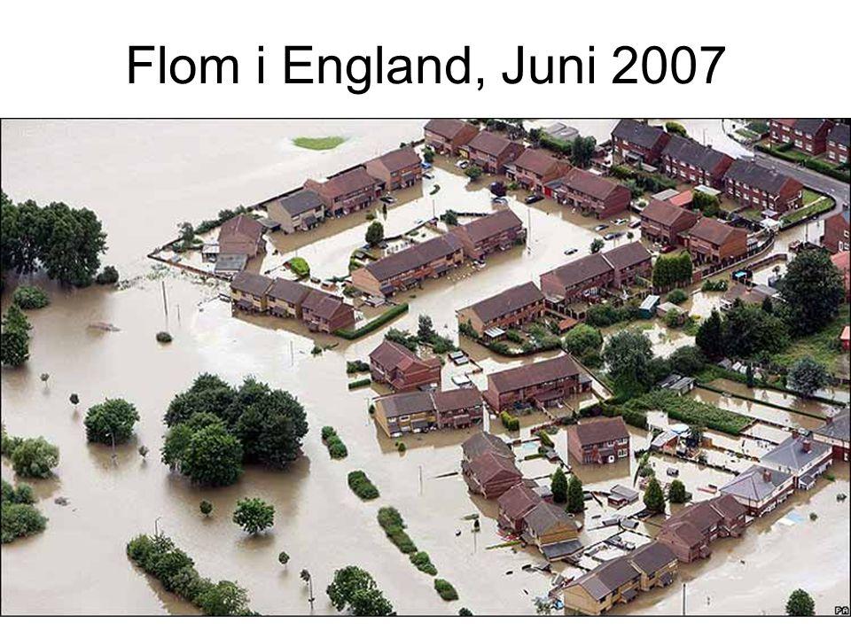 Flom i England, Juni 2007