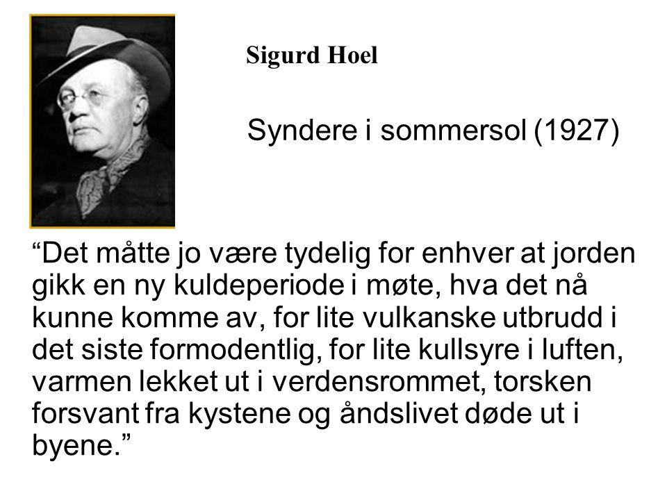 Sigurd Hoel Syndere i sommersol (1927)