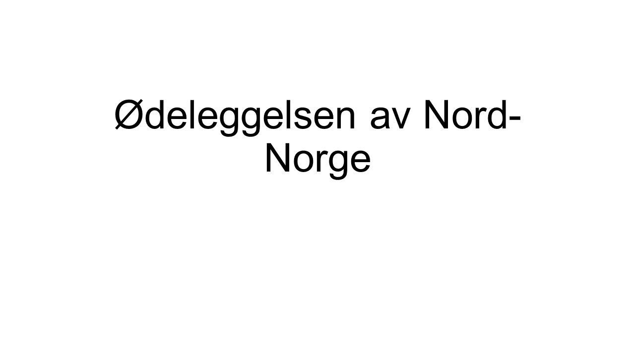 Ødeleggelsen av Nord-Norge