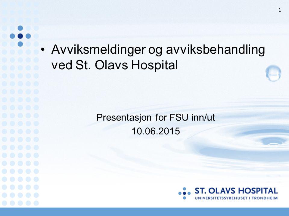 Presentasjon for FSU inn/ut