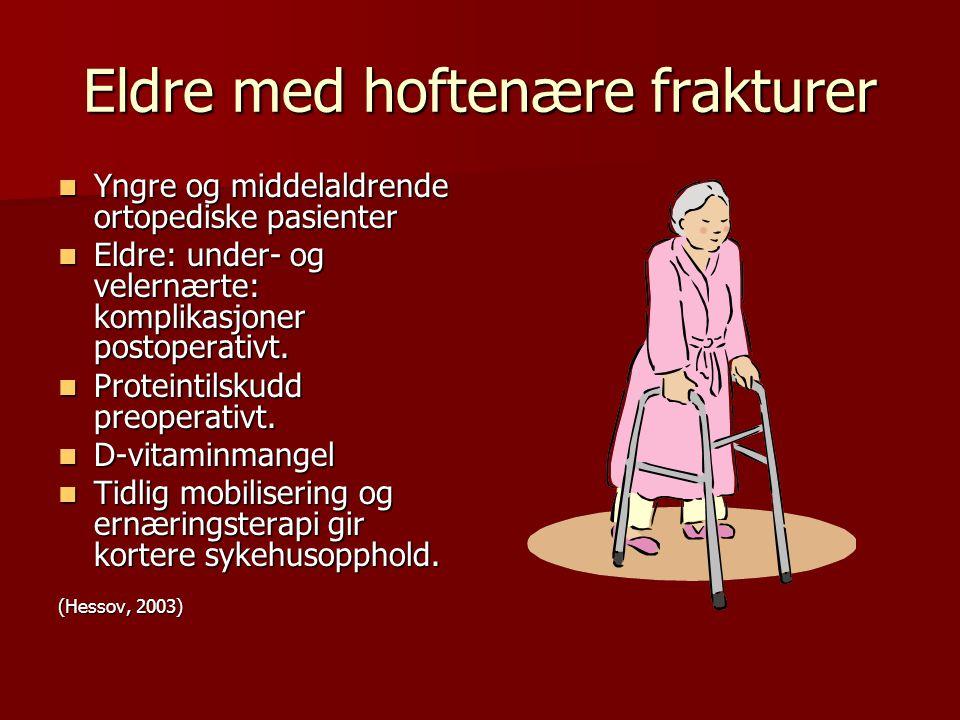 Eldre med hoftenære frakturer