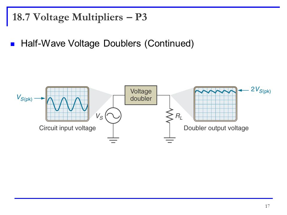 18.7 Voltage Multipliers – P3