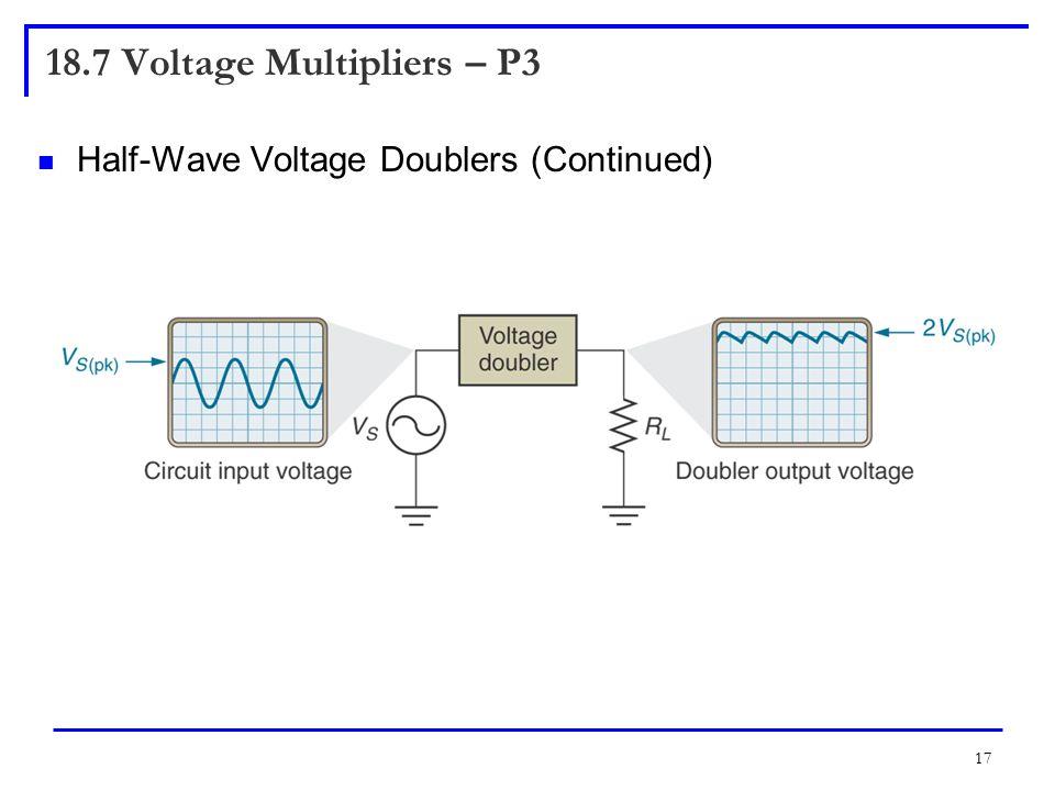 18.7 Voltage Multipliers – P3