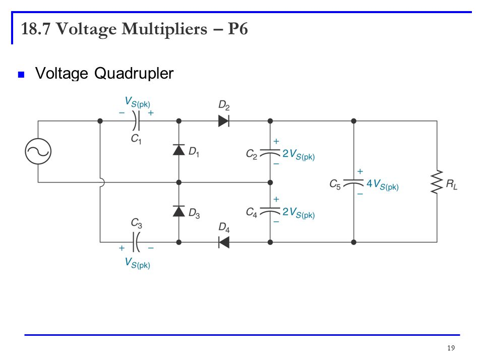 18.7 Voltage Multipliers – P6