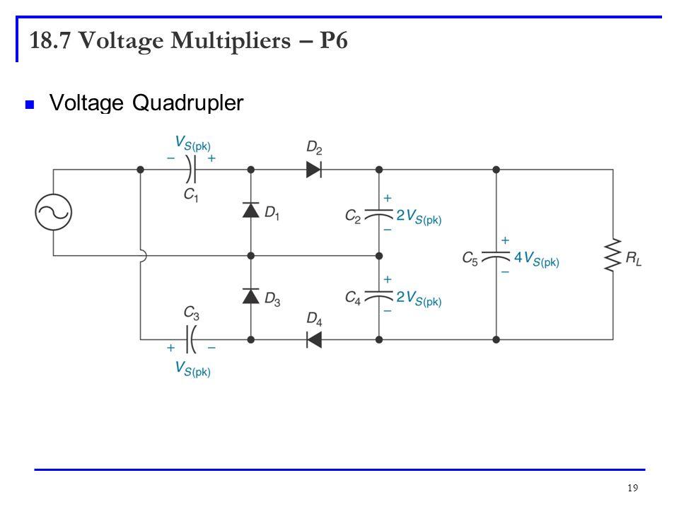 18.7 Voltage Multipliers – P6