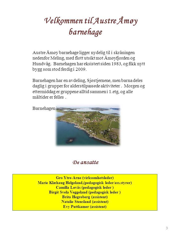 Velkommen til Austre Åmøy barnehage