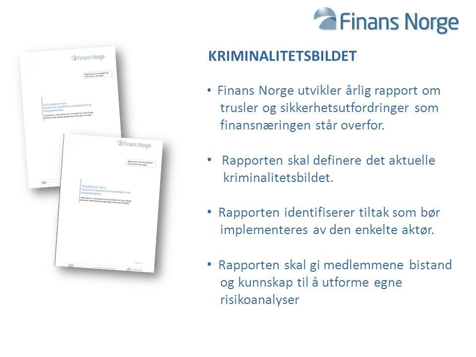 trusler og sikkerhetsutfordringer som finansnæringen står overfor.