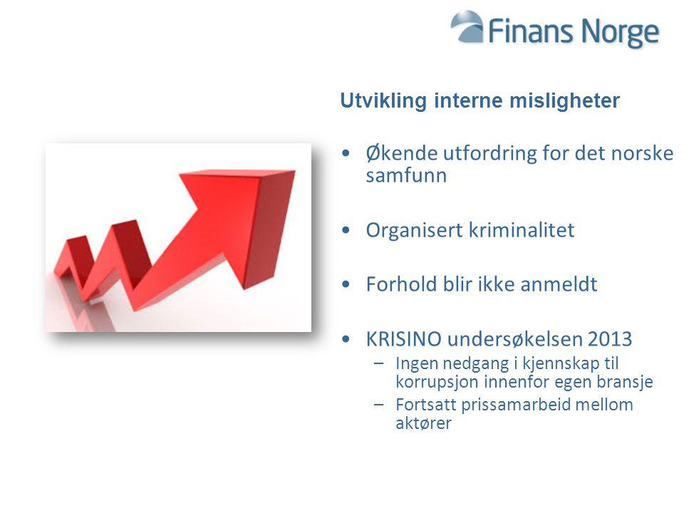 Økende utfordring for det norske samfunn