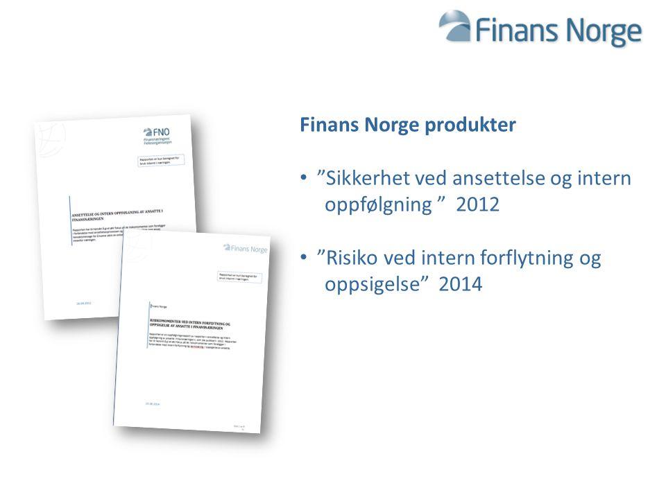 Finans Norge produkter