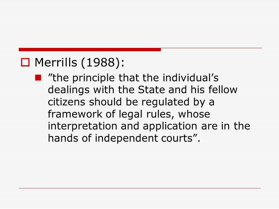 Merrills (1988):