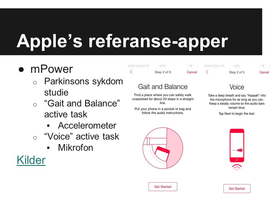 Apple's referanse-apper