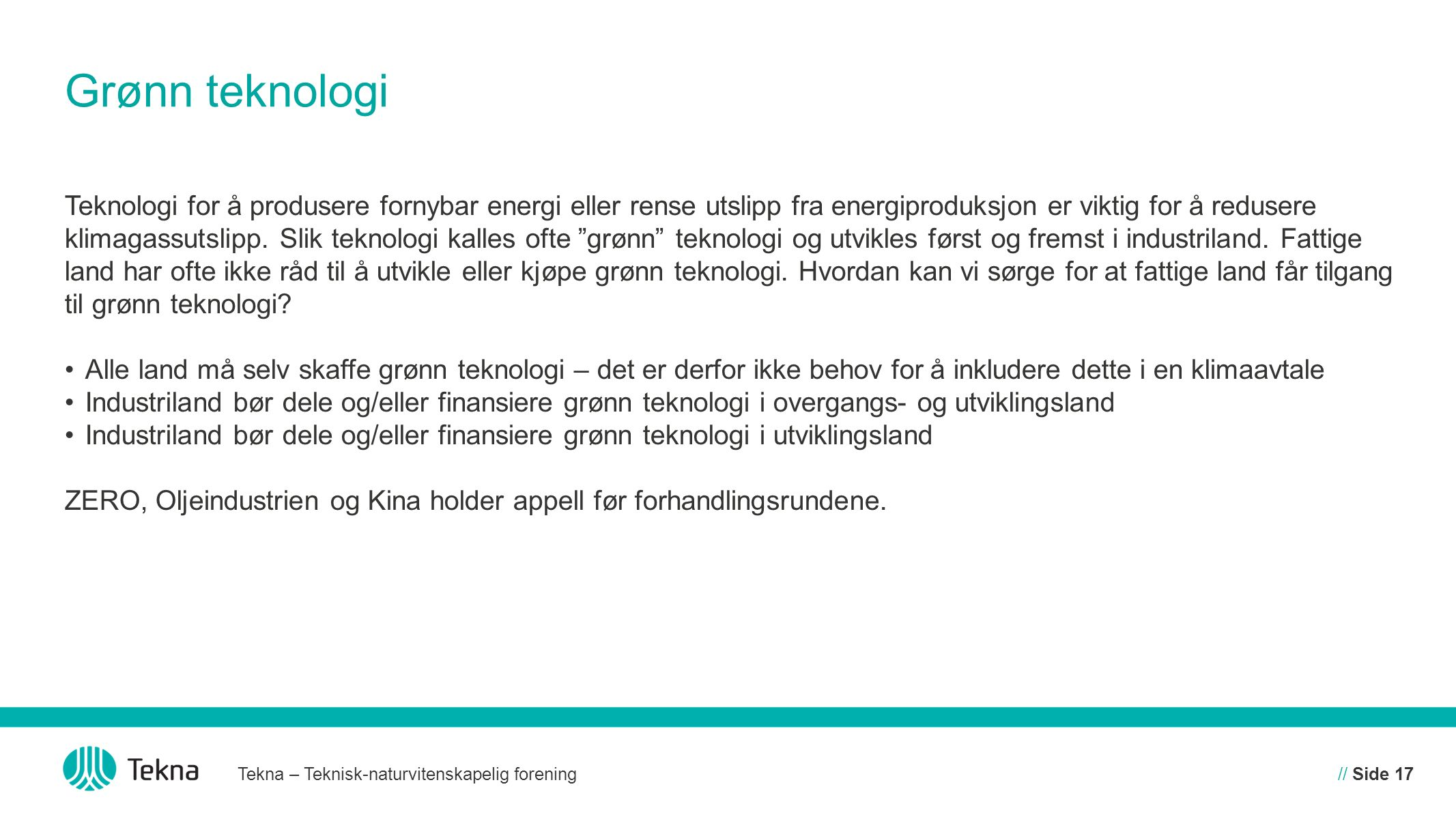 Grønn teknologi