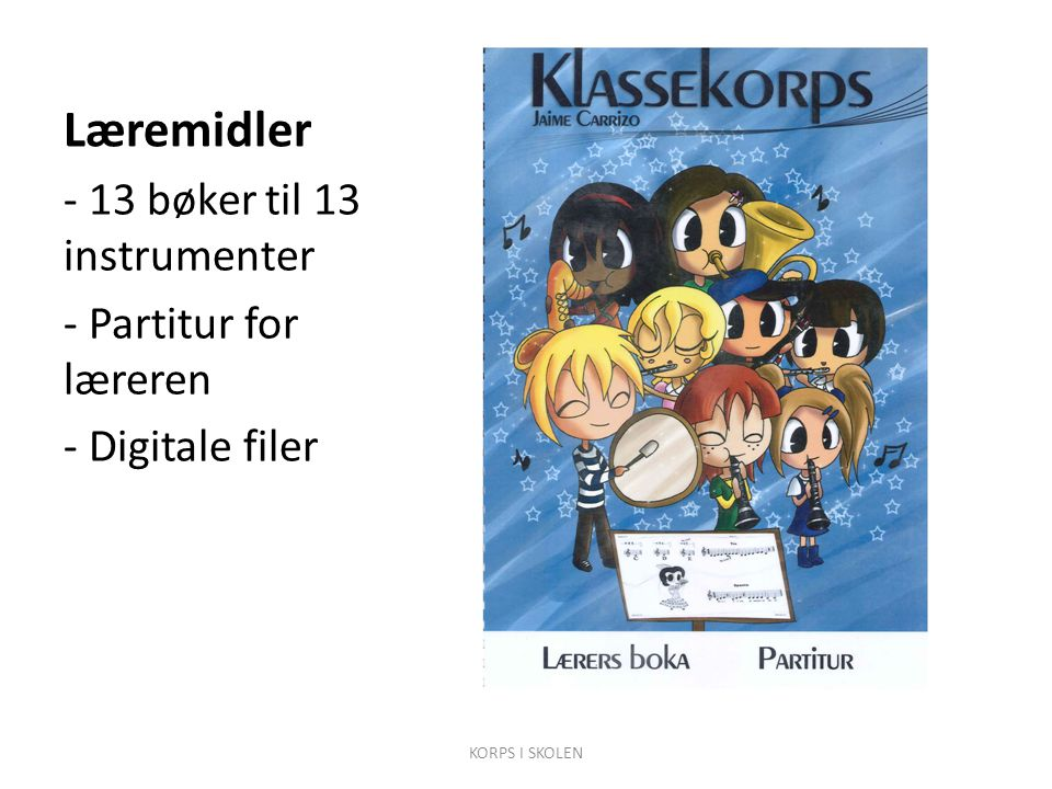 Læremidler - 13 bøker til 13 instrumenter - Partitur for læreren