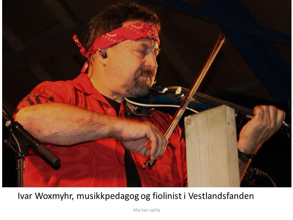 Ivar Woxmyhr, musikkpedagog og fiolinist i Vestlandsfanden
