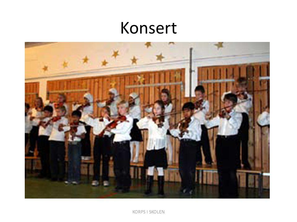 Konsert KORPS I SKOLEN