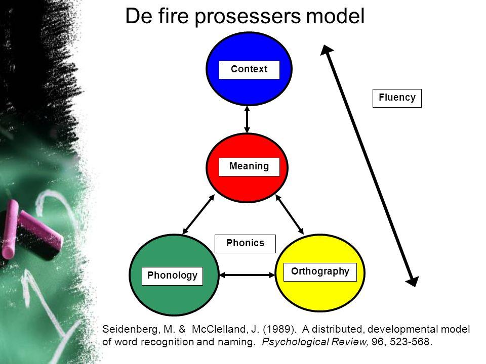 De fire prosessers model