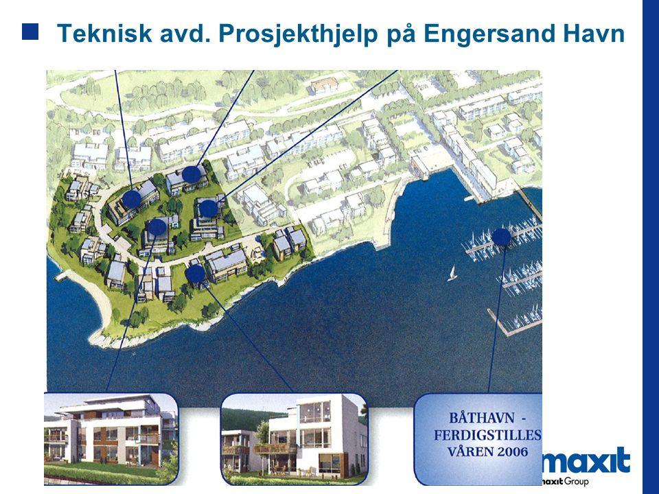 Teknisk avd. Prosjekthjelp på Engersand Havn