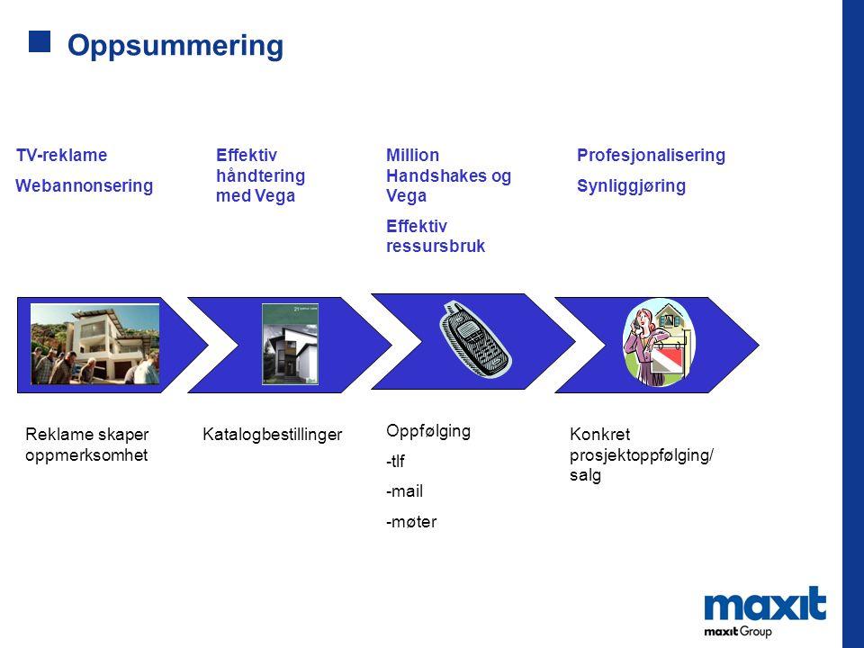 Oppsummering TV-reklame Webannonsering Effektiv håndtering med Vega