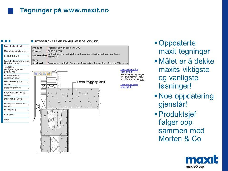 Tegninger på www.maxit.no