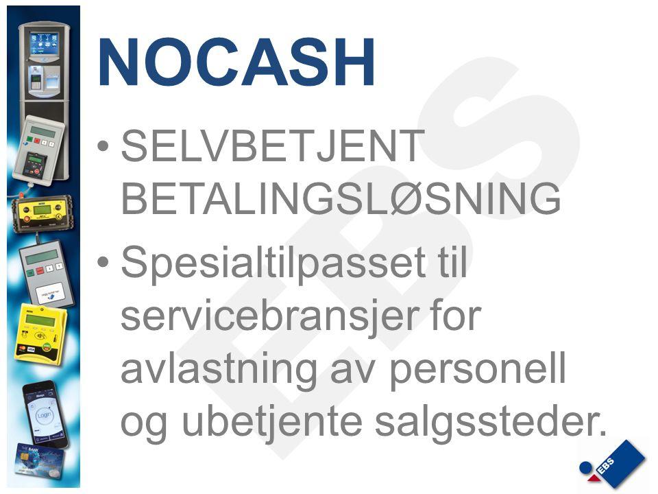 NOCASH SELVBETJENT BETALINGSLØSNING