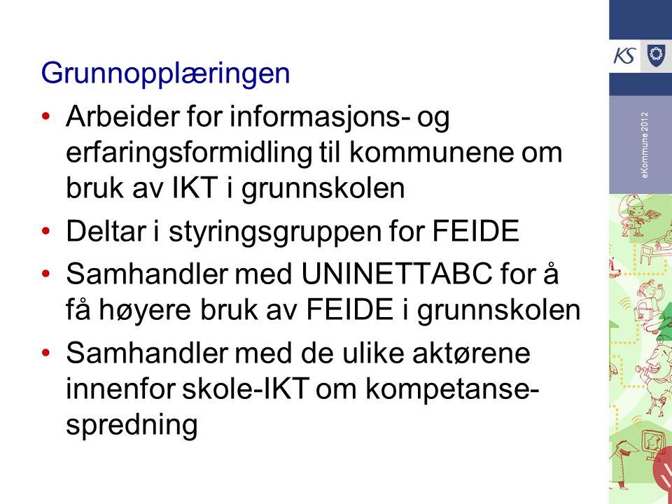 Deltar i styringsgruppen for FEIDE