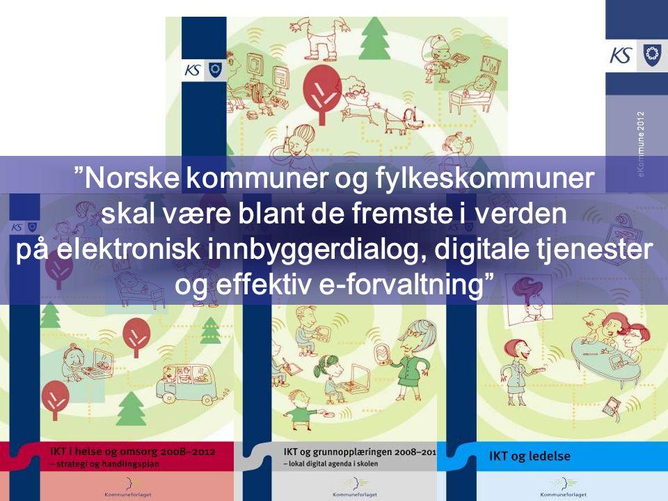 Norske kommuner og fylkeskommuner skal være blant de fremste i verden