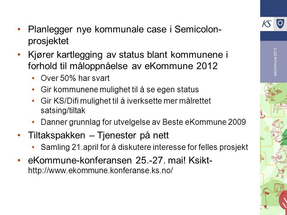 Planlegger nye kommunale case i Semicolon-prosjektet