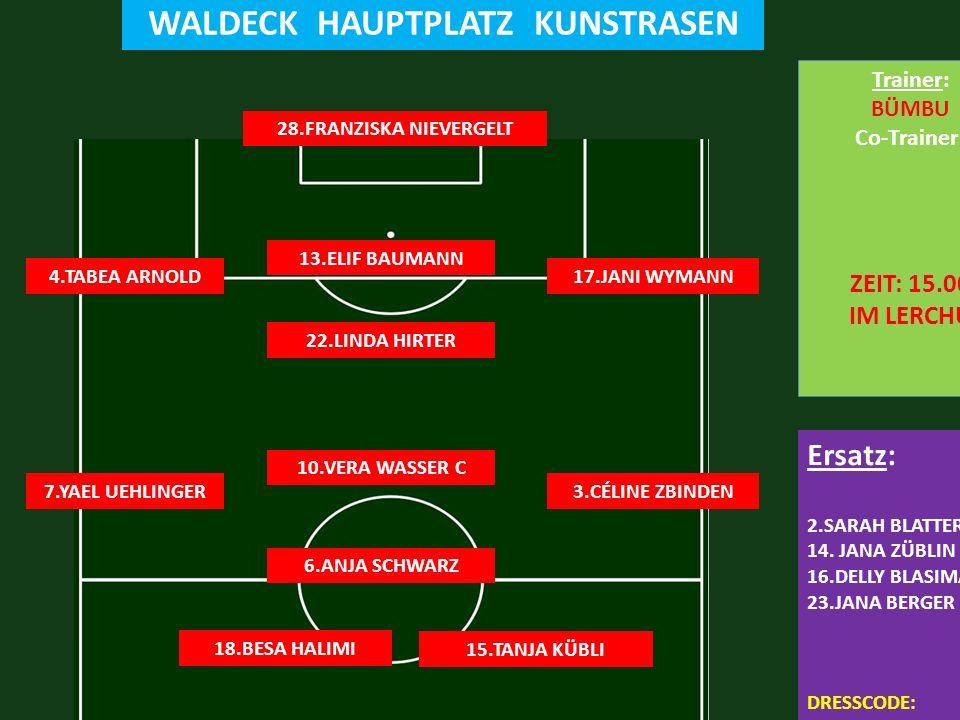 FC LERCHENFELD 1:5 FC STEFFISBURG WALDECK HAUPTPLATZ KUNSTRASEN