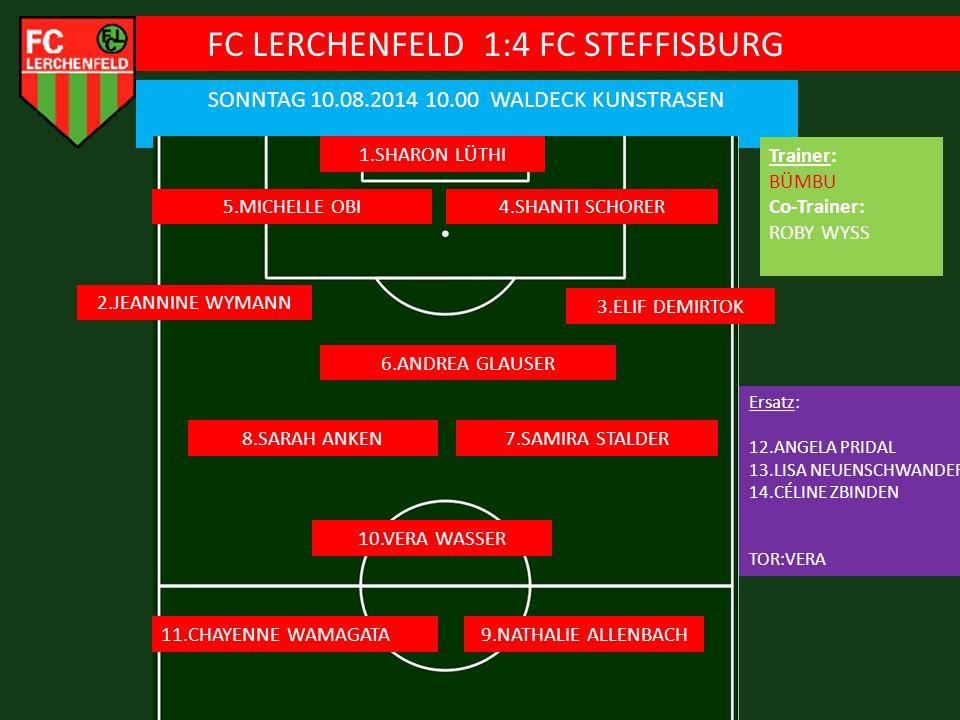 FC LERCHENFELD 1:4 FC STEFFISBURG