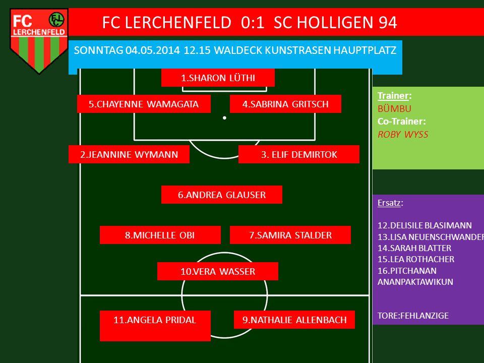 FC LERCHENFELD 0:1 SC HOLLIGEN 94
