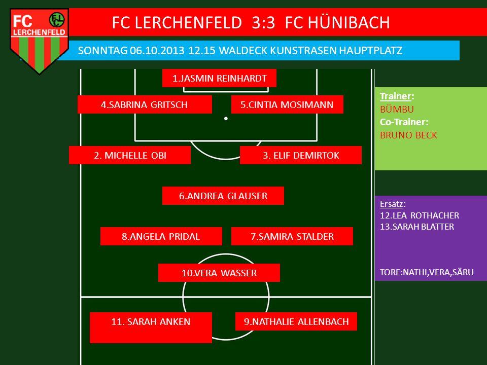FC LERCHENFELD 3:3 FC HÜNIBACH