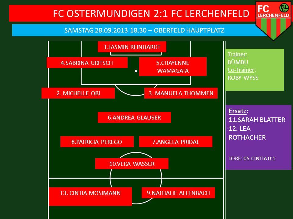 FC OSTERMUNDIGEN 2:1 FC LERCHENFELD